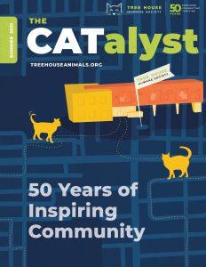 Magazine Cover: The Catalyst: 50 Years of Inspiring Community